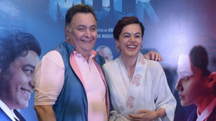 Taapsee Pannu remembers later actor Rishi Kapoor
