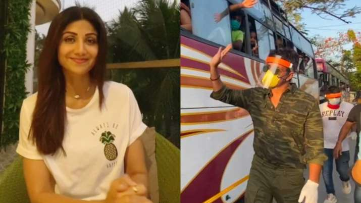 Shilpa Shetty lauds 'superhero' Sonu Sood for helping migrants