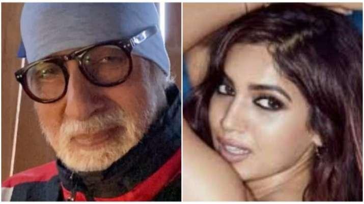 Bhumi Pednekar calls Amitabh Bachchan 'baller' once again,