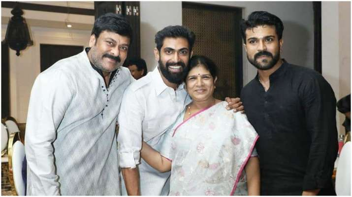 Chiranjeevi on Rana Daggubati's engagement with Meehika Bajaj: Finally mighty Bhallala Deva is struc
