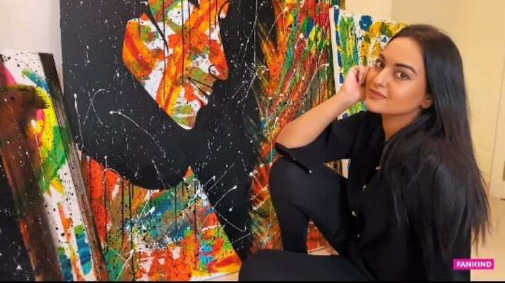 Sonakshi Sinha auctions her artwork to provide ration to daily wage workers