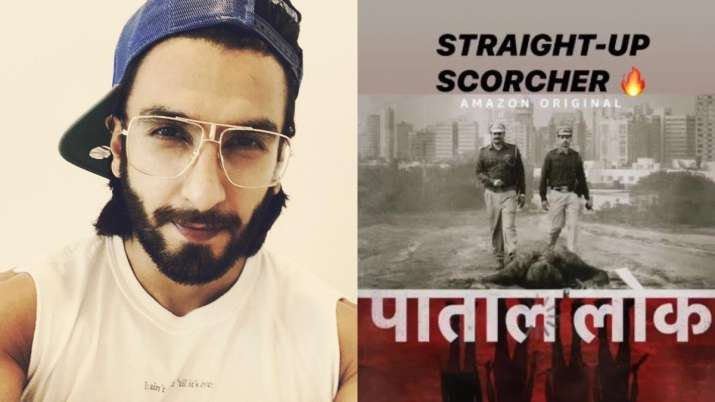India Tv - Ranveer Singh praises for Anushka Sharma's Paatal Lok