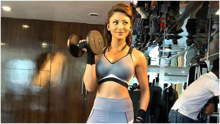 Urvashi Rautela's workout challenge to beat lockdown blues