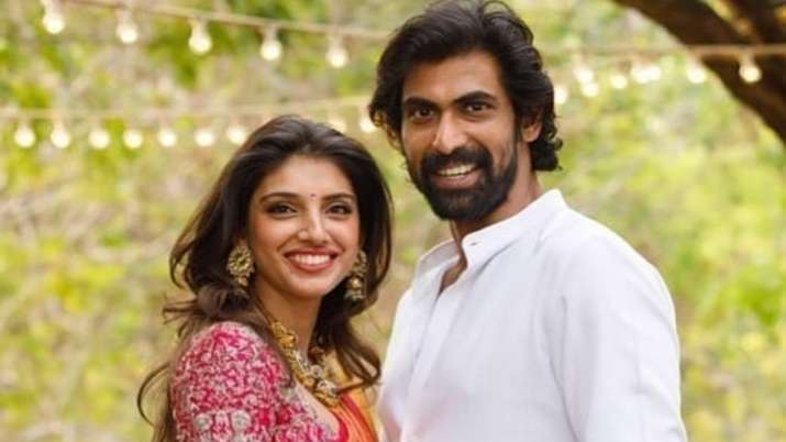 Rana Daggubati and fiance Miheeka Bajaj unseen photos from engagement ceremony