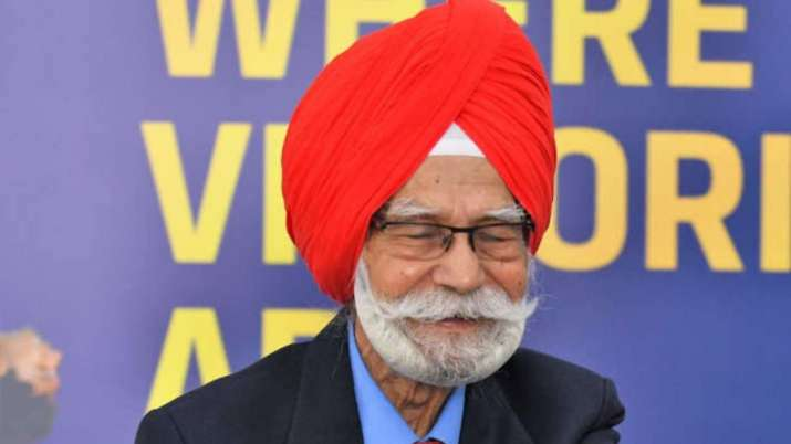 Legendary former hockey player Balbir Singh Sr.