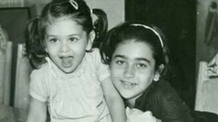 Kareena, Karisma Kapoor's viral childhood photo is too cute for words