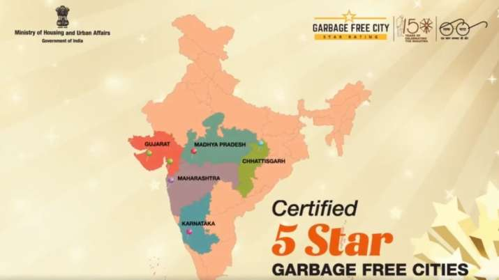 Navi Mumbai, Surat, Indore among 5 cities declared garbage free