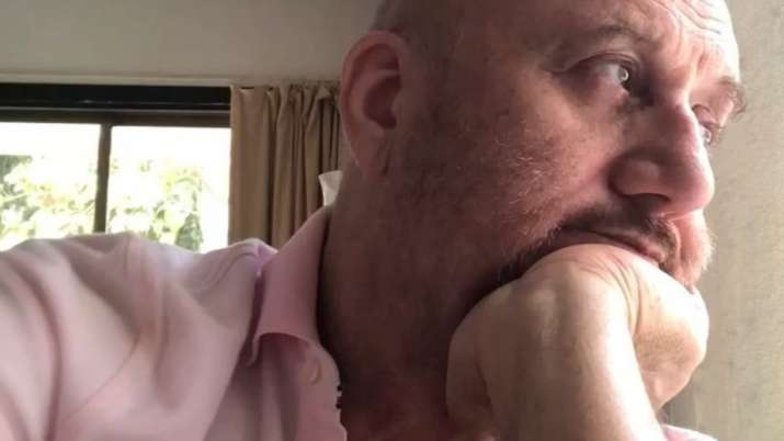 Anupam Kher shares video reciting poem on plight of migrant workers