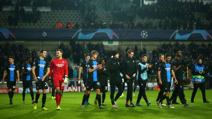 Belgian League Announces End Of Season Club Brugge Crowned Champions Football News India TV