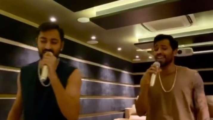 Karaoke Time: Hardik Pandya sings Bollywood song 'Teri Mitti' with Krunal, video goes viral
