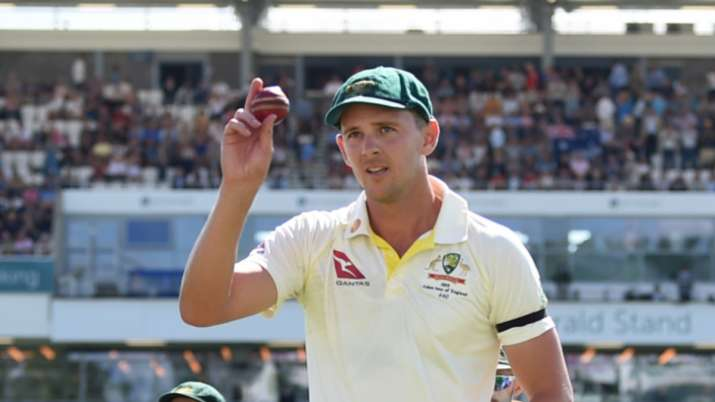 Second nature to give ball little touch up: Josh Hazlewood on saliva ban