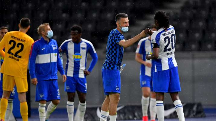 Bundesliga: Hertha rout Union 4-0 in subdued Berlin derby