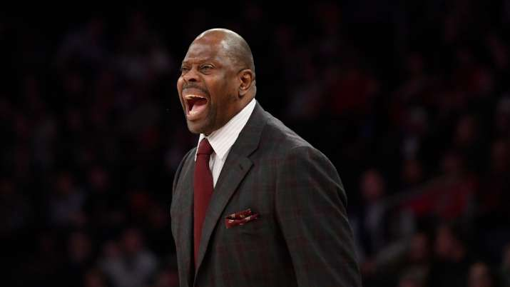 Basketball legend Patrick Ewing hospitalised with COVID-19