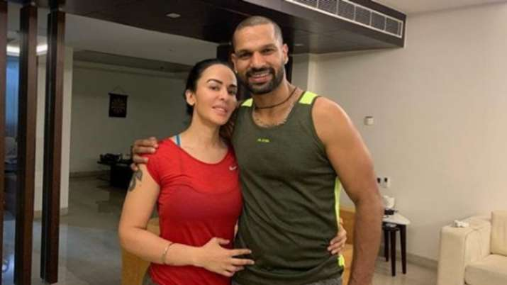 Shikhar Dhawan pens down heartwarming post for wife Ayesha ...