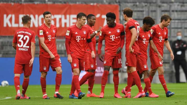 Bundesliga: Bayern Munich thrash Eintracht Frankfurt 5-2 ...