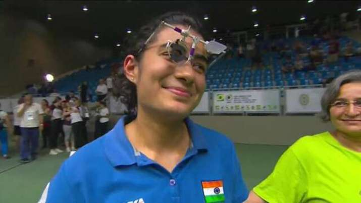 Yashaswini Deswal claims pistol gold in Int'l Online Shooting C'ship