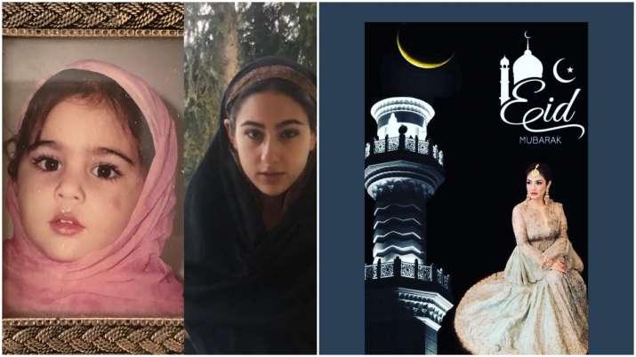 Eid Mubarak 2020: Raveena Tandon, Sara Ali Khan and other Bollywood celebs wish fans on Eid