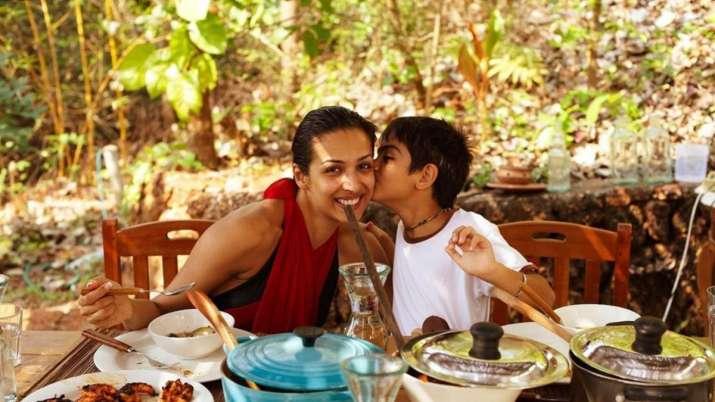 Malaika Arora shares throwback photo with son Arhaan