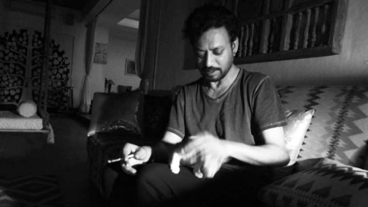 Irrfan Khan's son Babil shares throwback video of the actor playing with a cat