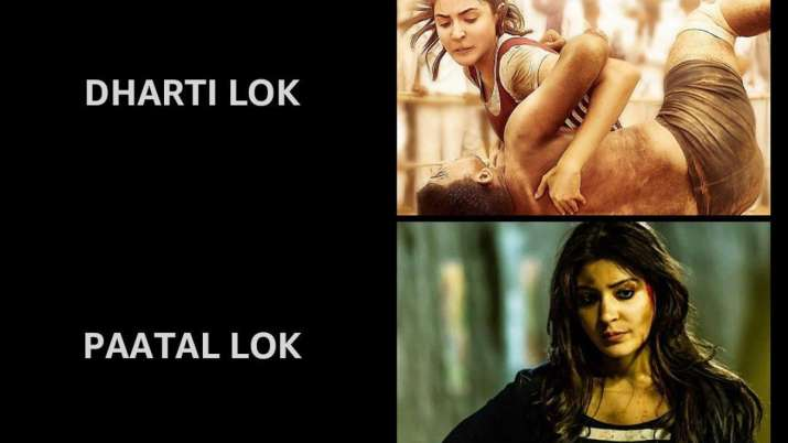 Anushka Sharma shares funny meme featuring her in 'swarg,' 'dharti' and 'paatal lok'