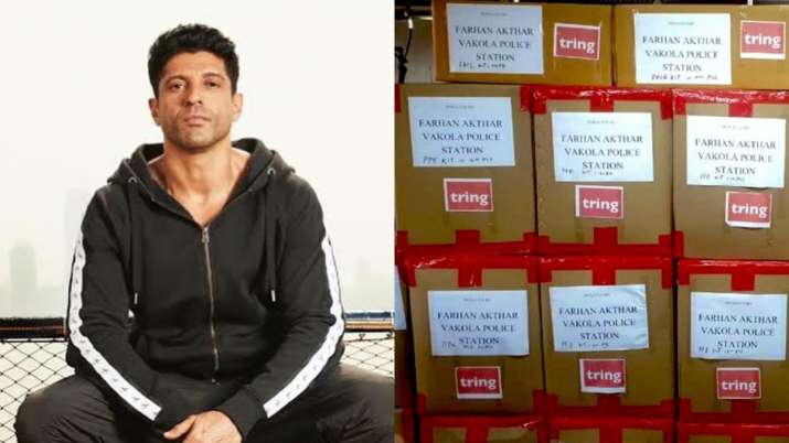 Let's protect our frontline warriors: Farhan Akhtar donates 1000 PPE kits to Mumbai Police