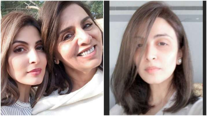 Riddhima Kapoor flaunts quarantine haircut mother Neetu Kapoor gave her, shares pics