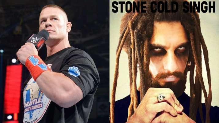 John Cena shares hilarious meme on Ranveer Singh calling him 'Stone Cold Singh'