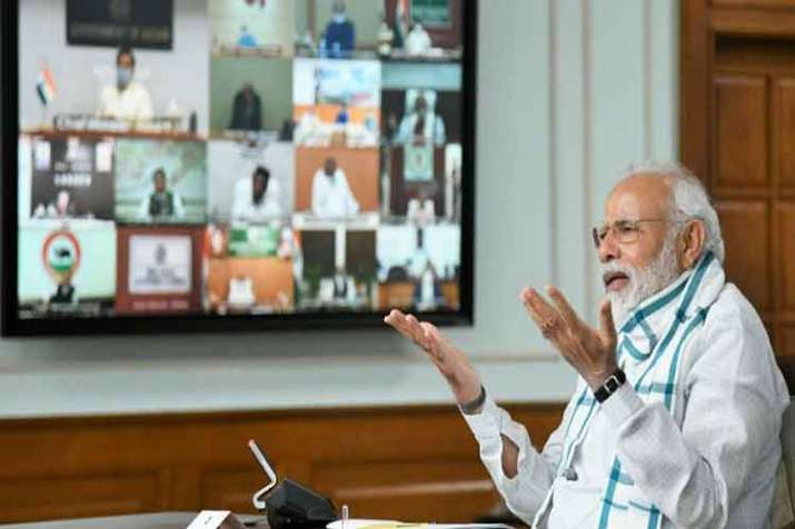 Looking at gradual withdrawal of lockdown: PM Modi in video