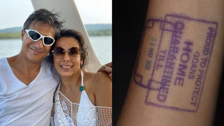 Pooja Bedi, fiance Maneck Contractor quarantined after they drive back to Goa amid COVID-19 lockdown