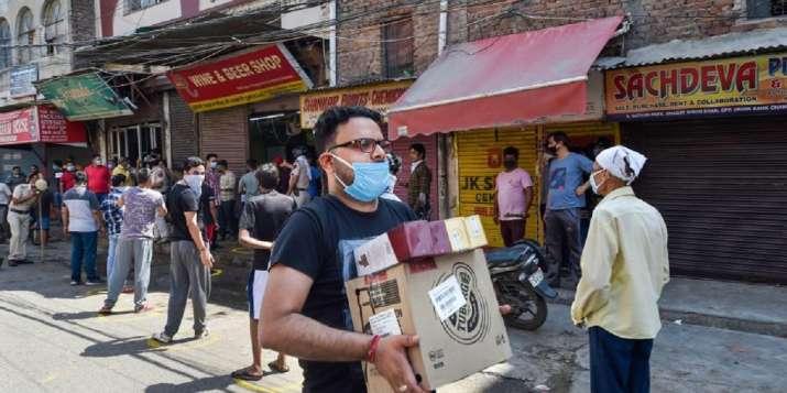 private liquor shops Delhi