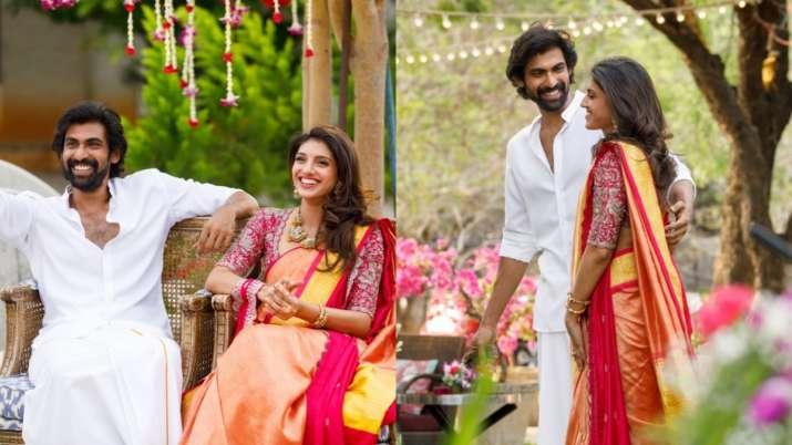 Rana Daggubati, Miheeka Bajaj's 'Roka' photos get best wishes from Anil Kapoor, Anushka Shetty and o