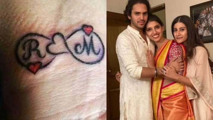 India Tv - Rana Daggubati and Miheeka Bajaj tattoo
