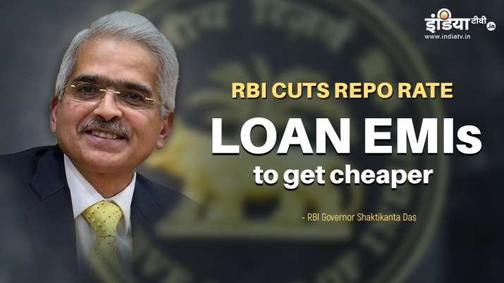 Loan EMIs set to get cheaper as RBI cuts repo rate by 40 bps to 4 per cent