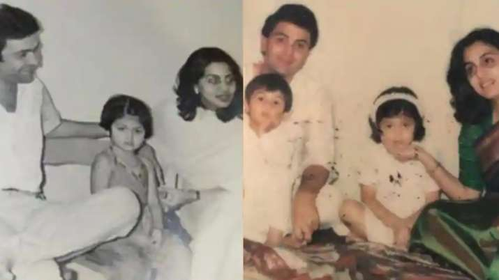 Throwback Thursday: Cute little Ranbir sits in Rishi Kapoor's lap