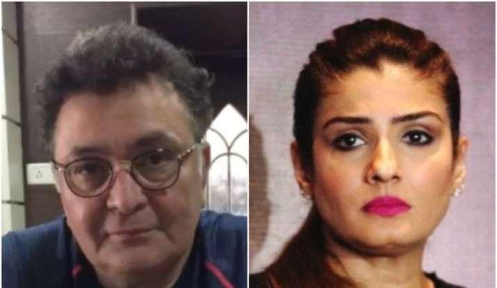 Raveena Tandon, Rishi Kapoor