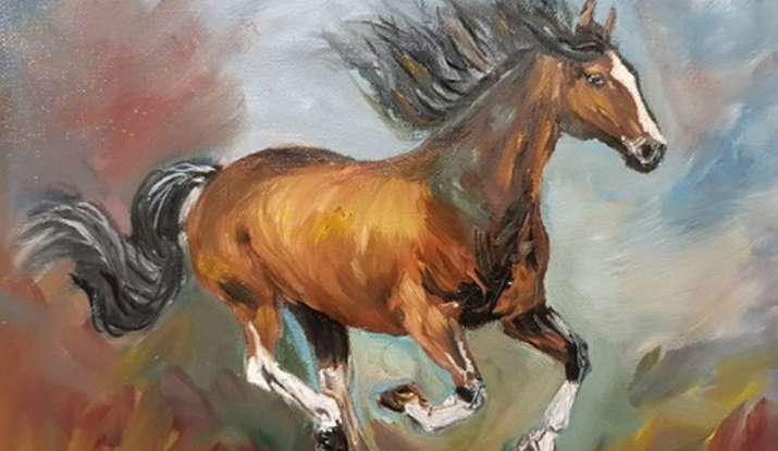 Vastu Tips For Home Putting Up Picture Or Painting Of A Running Horse Is Auspicious But Certain Rules Apply Vastu News India Tv