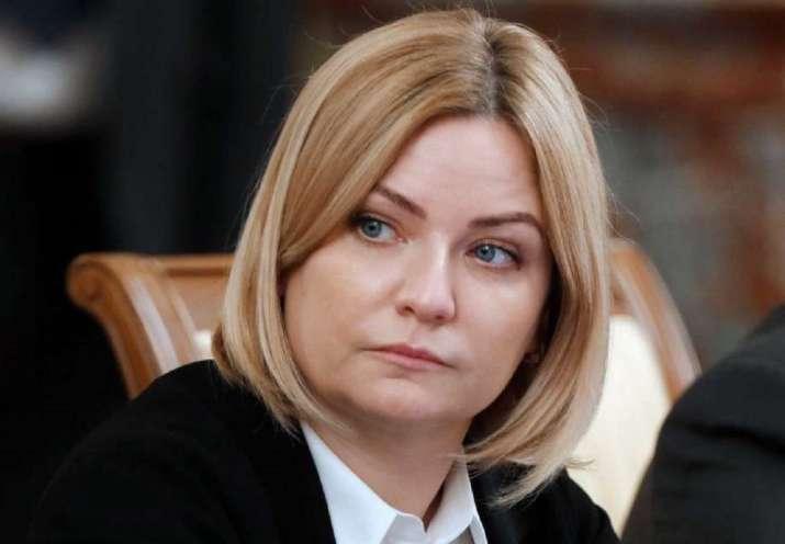 Russian Culture Minister Olga Lyubimova tested positive for coronavirus on Wednesday