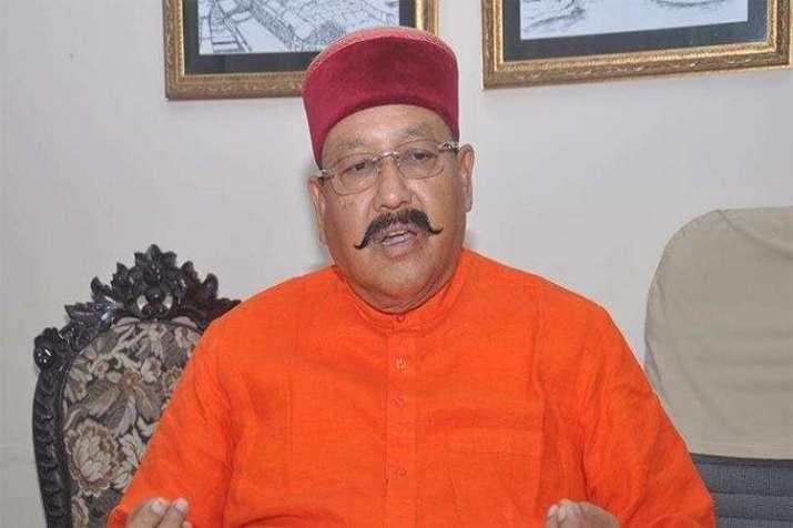 Satpal Maharaj has tested positive for coronavirus