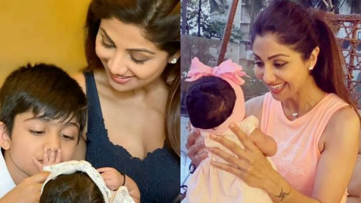 Shilpa Shetty treats fans with adorable photo of daughter Samisha as she turns 3 months old
