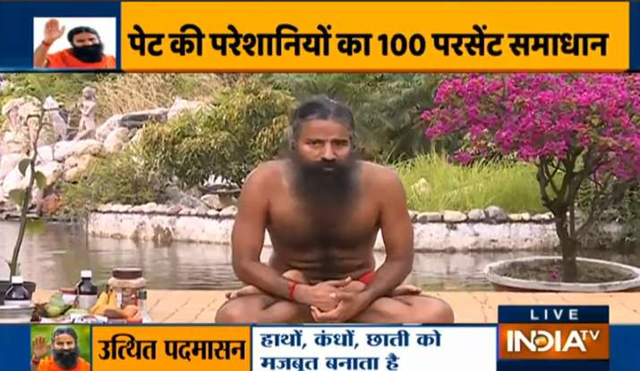 Yoga for acidity, constipation, gas: Swami Ramdev's tips ...