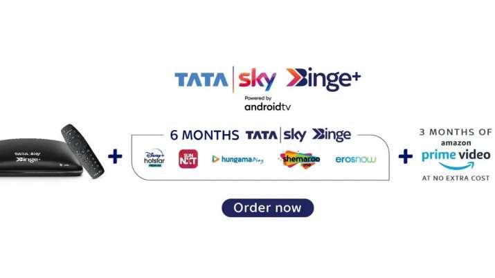 tata sky, tata sky binge+, online content, tata sky binge+ price cut in india, tata sky binge+ featu