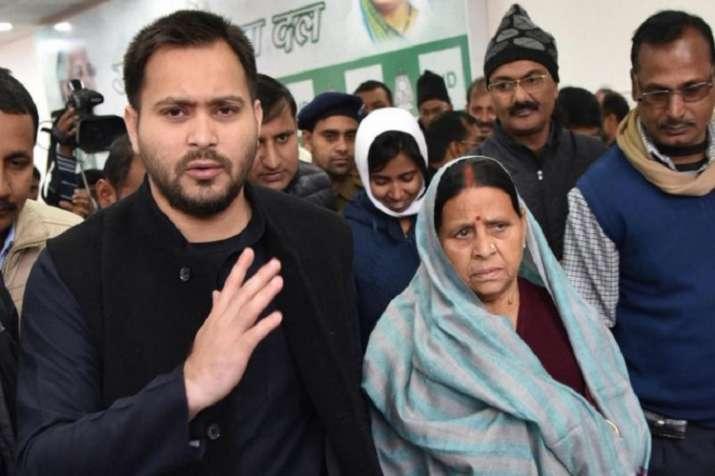 Rabri Devi, Tejashwi among RJD leaders booked for lockdown violation