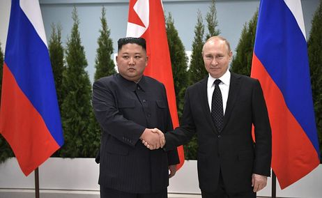 Kim Jong-un sends message to Russian President Vladimir Putin