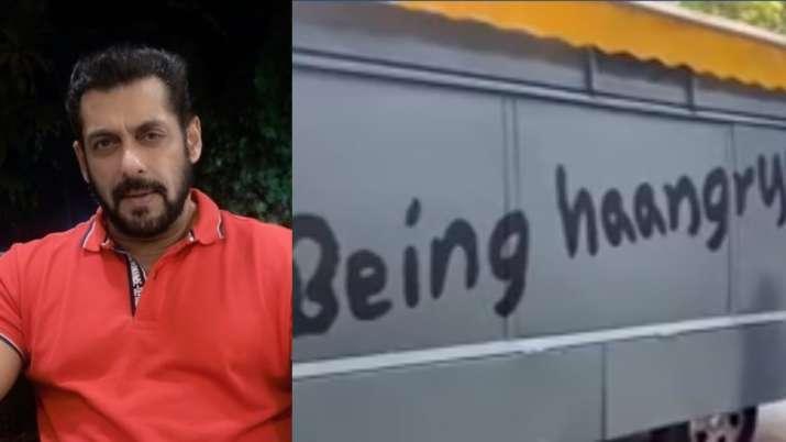 Salman Khan launches his food truck 'Being Haangryy' amid lockdown