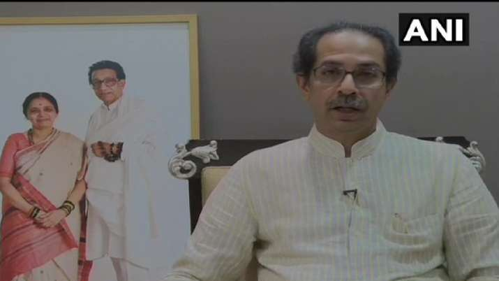 Maharashtra CM Uddhav Thackeray during his video address on