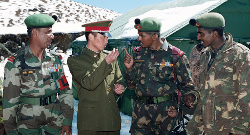 Indian Army-Chinese PLA soldiers face-off in North Sikkim. Minor ...
