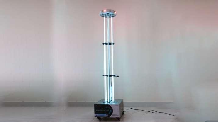 DRDO develops UV disinfection tower for sanitizing