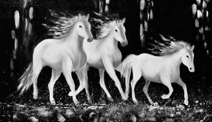 Vastu Tips White Horses Photo On Home Or Office Wall Helps You Establish Positive Communication Vastu News India Tv