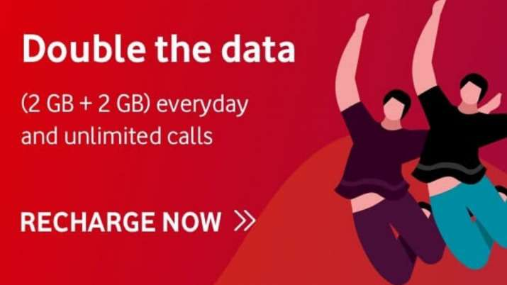 Vodafone Relaunches Double Data Offer On 5 Plans Pan India See Plans Benefits And More Technology News India Tv