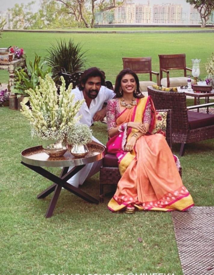 India Tv - Rana Daggubati and his fiance Miheeka Bajaj